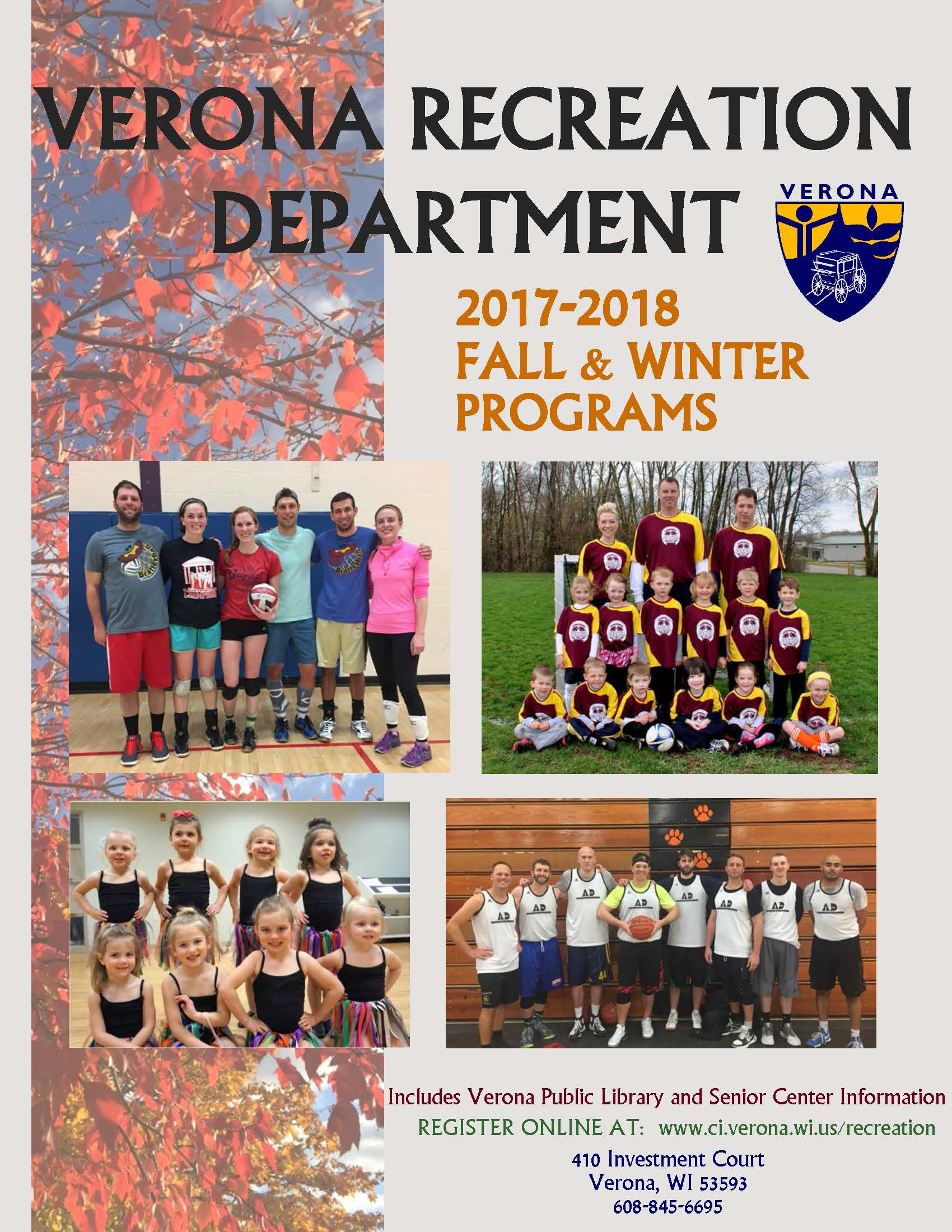 2017 Fall.Winter Brochure Cover
