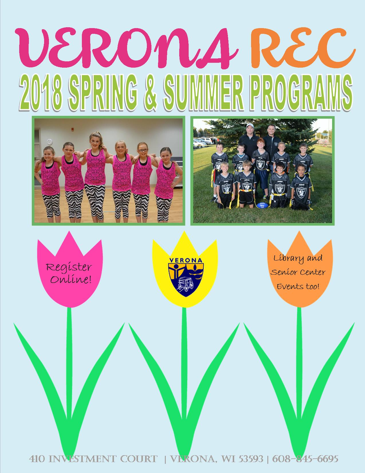 2018 spring summer brochure cover