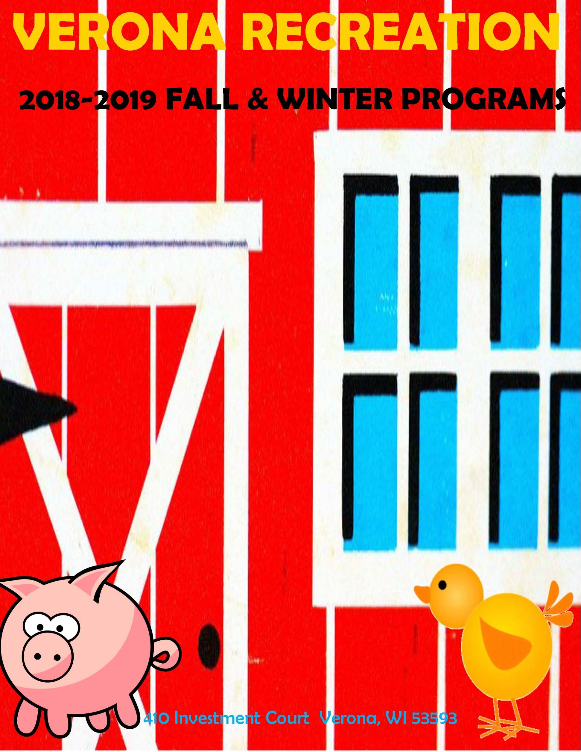 2018 Fall-Winter Cover